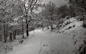 Rutas de senderismo invierno Courel Albergue de Quiroga
